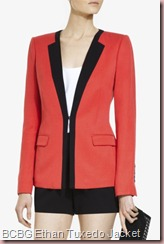 BCBG ETHAN TUXEDO JACKET