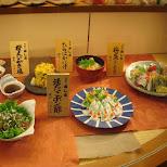 food in Shibuya, Tokyo, Japan