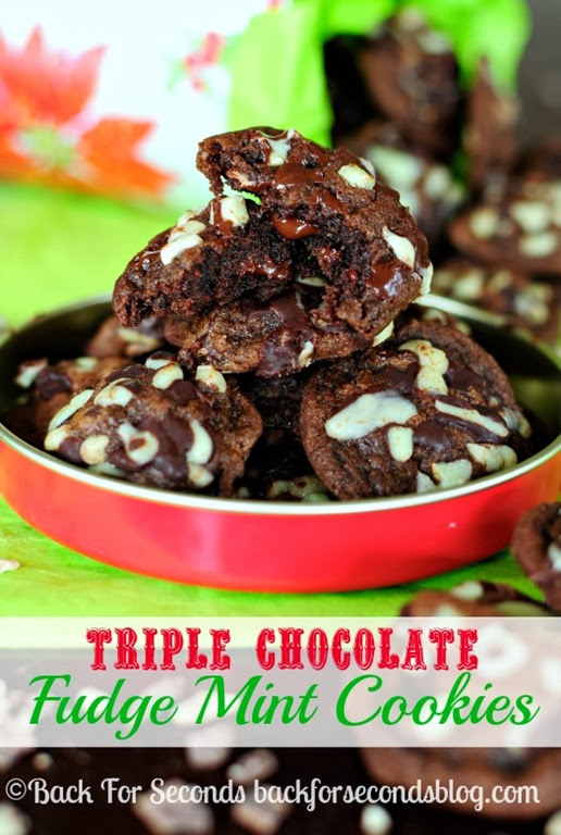 Chocolate-cookies-with-Andes-Mints