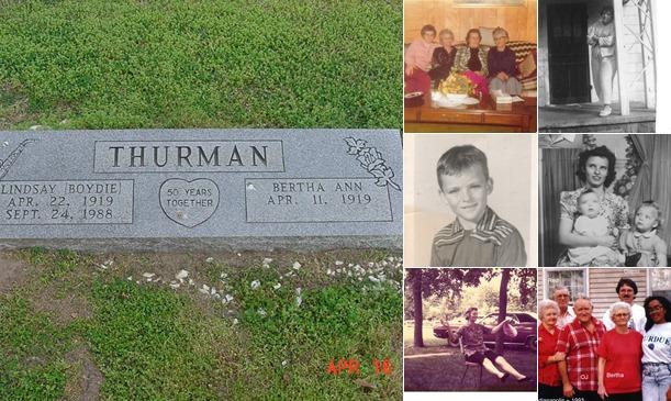 View Bertha Ann Littrell Thurman