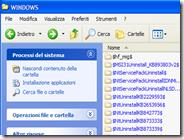 Rimozione sicura delle copie di backup dei vecchi aggiornamenti di Windows XP per liberare spazio sul disco