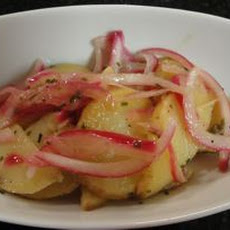 Salt & Vinegar Potato and Onion Salad