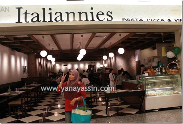 Italiannies makanan 587