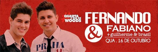 Fernando & Fabiano no Wood's Bar em São Paulo