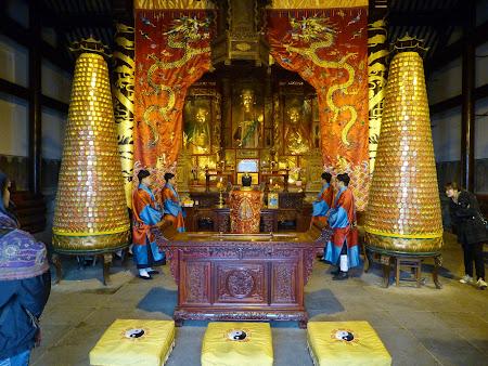 15. Templul Maoshan - ceremonie taoista.JPG