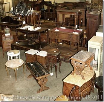 Warehouse Full of French Antiques