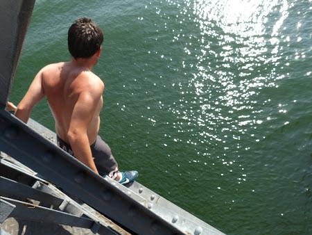 Sarituri in apa la Porto