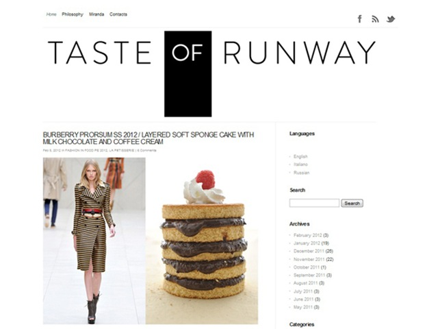 taste of runway