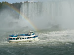 Niagara Falls and Maid of the Mist from the Journey behind the Falls