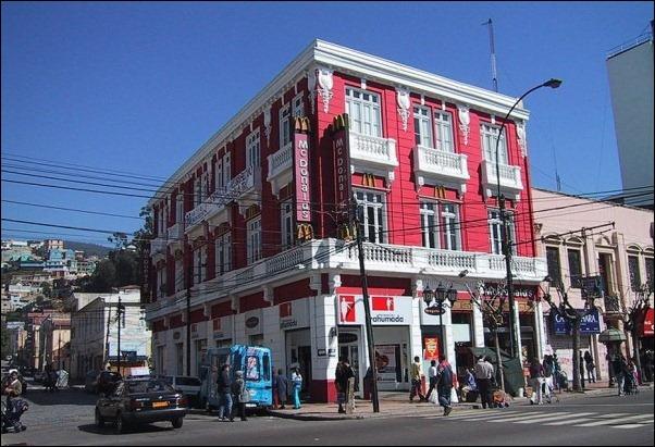 McDonald's Valparaiso, Chile