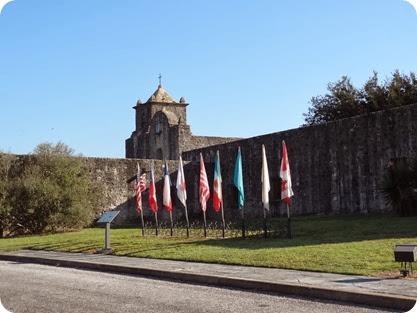 Presidio flags