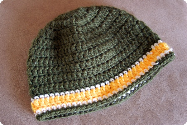 Crocheting the Day Away: Easy Peasy Woman s Winter Hat ...