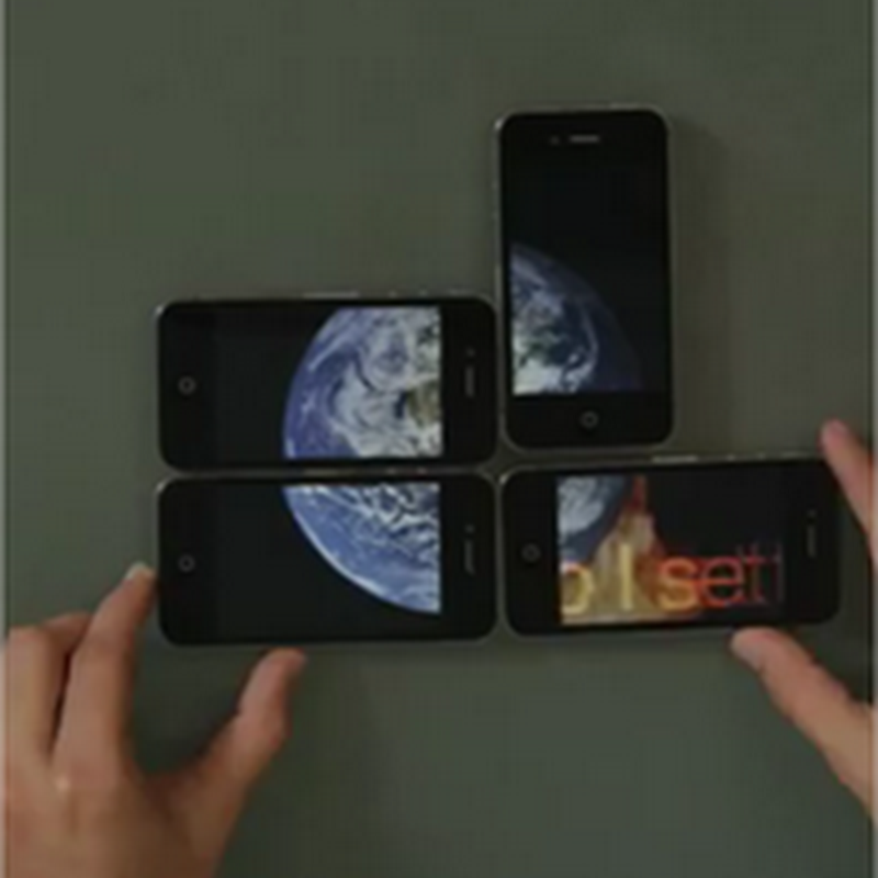 Imperdible video puzzle con iPhones