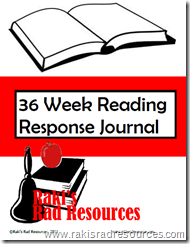 Use this reading journal to help kids respond to the online books they have read.  Raki's Rad Resources