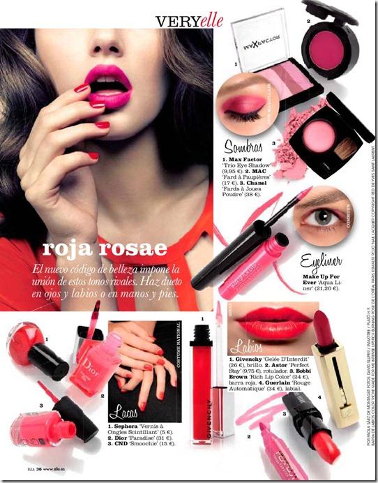 Maquillaje de moda 2011