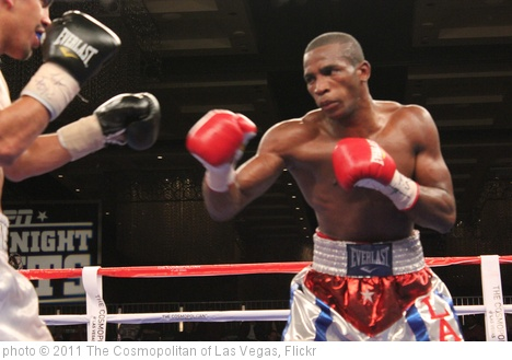 'Erislandy Lara  vs. Carlos Molina at Fight Night at The Cosmopolitan of Las Vegas' photo (c) 2011, The Cosmopolitan of Las Vegas - license: http://creativecommons.org/licenses/by-nd/2.0/