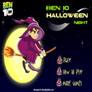 Ben 10 Halloween Night