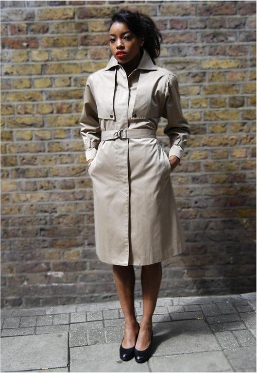 Vintage Classic Trench Coat, £60, Mint Vintage