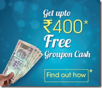 Groupon: Get Rs. 2000 Groupon Credit for Rs. 1550