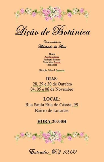 Licao de Botanica - Machado de Assis