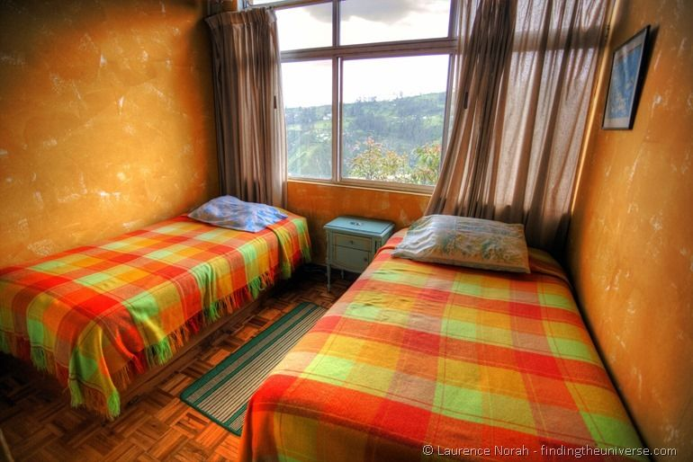 Yellow room homestay quito