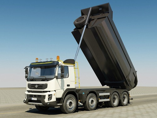 Camion Volvo FMX ideal para la construccion