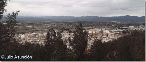 Panorámica de Llíria desde el Monasterio de San Miguel - Líria - Valencia