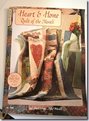 heart of the home quilt 001