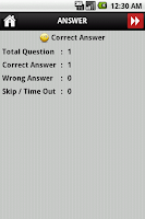 Screenshot of Holy Bible Trivia Lite