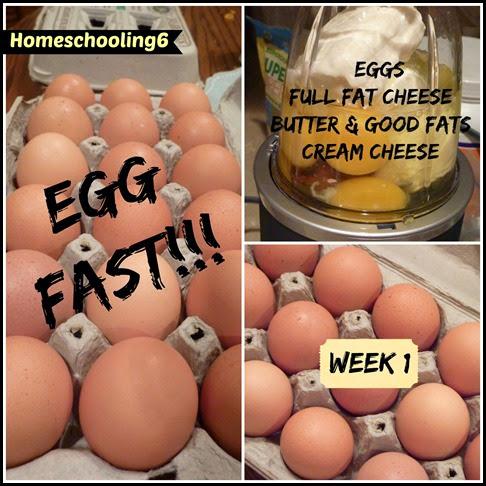 Egg Fast Week 1