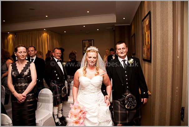 leaving the service wedding photography at the cults hotel aberdeen