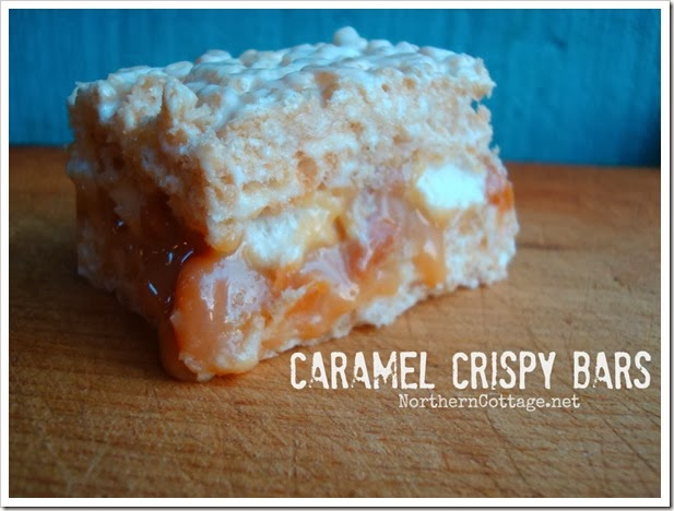 {Northern Cottage} gooey sticky caramel sticky bars - to.die.for!!