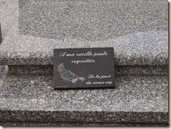 Belliek (Bergilers): leuk opschrift op grafsteen