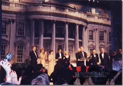 Rick Meyers Co-Host of the 2001 Black Tie & Boots Inaugural Ball