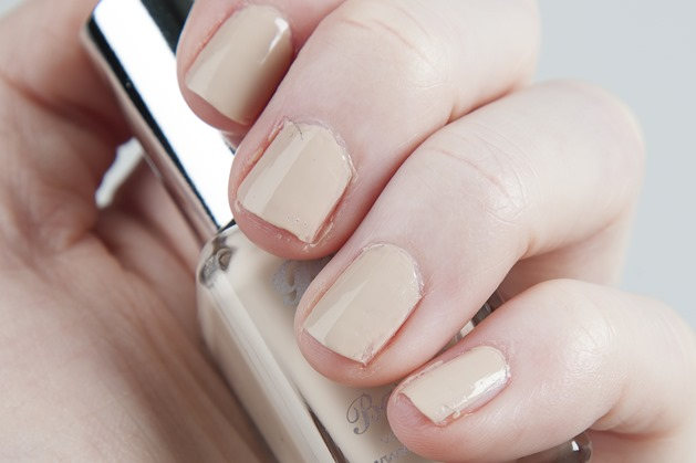 notd barry m gel nail paint polish lychee nude