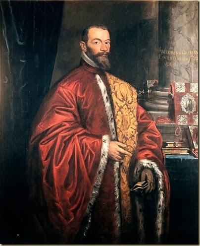 Portrait du doge Antonio Grimani