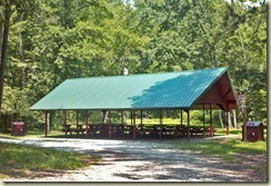large picnic shelter