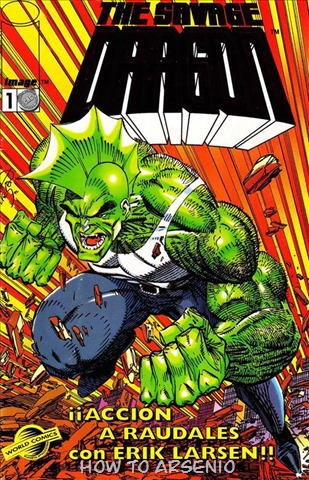 P00002 - Savage Dragon Mini #1