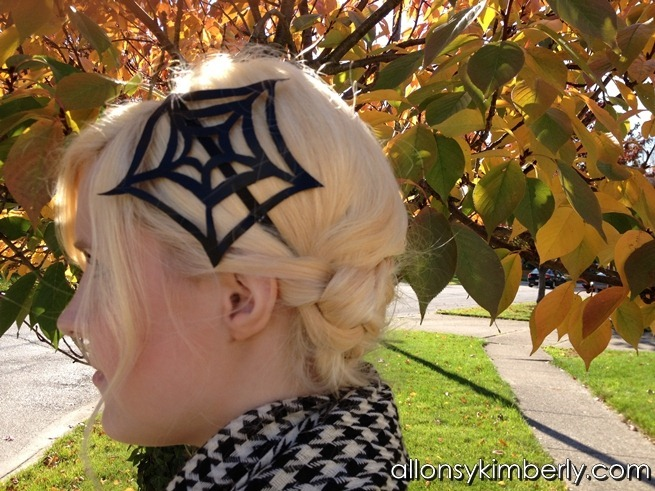 Spider Web Headband | allonsykimberly.com