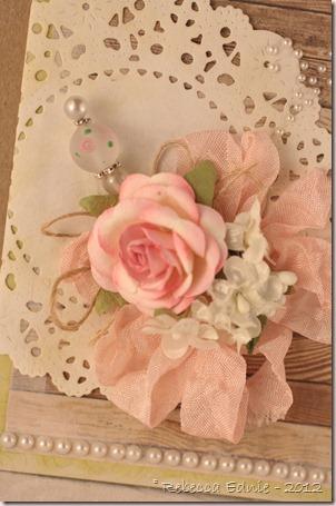 rustic elegance card closeup