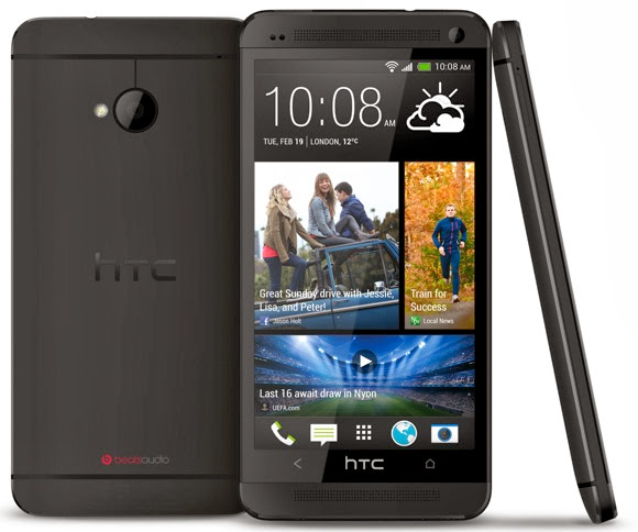 HTC One design and build
