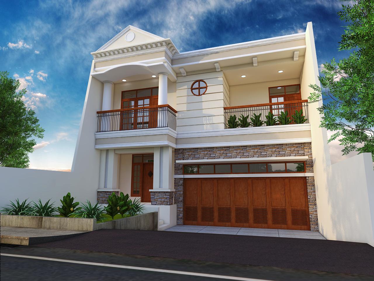RUMAH ARSITEKTUR DAN INTERIOR DESAIN Rumah Bergaya Klasik Modern