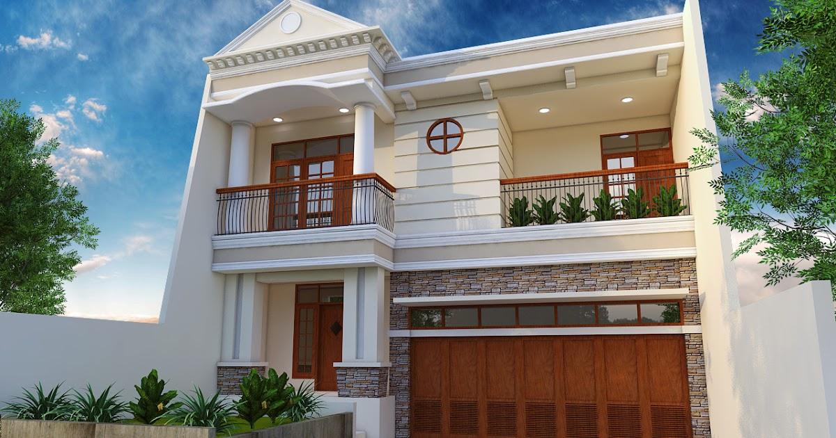 rumah arsitektur dan interior desain rumah bergaya klasik