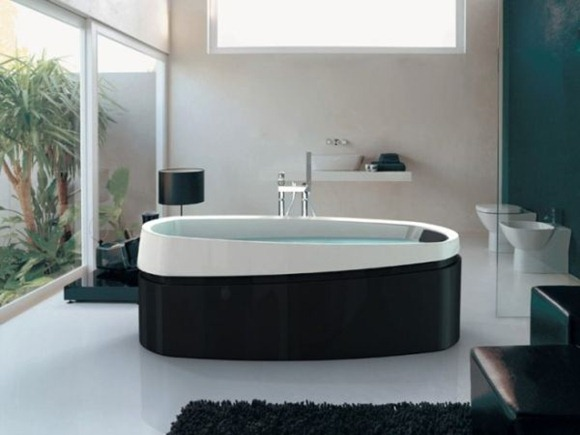 diseñar y decorar el baño para que parezca un spa