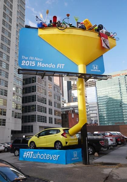 Honda fit publicidad exterior 01