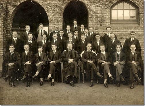 St John's College Armidale 1920s