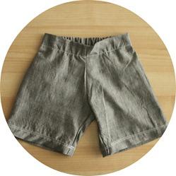 circle grey shorts