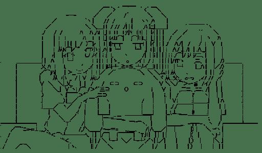 うーさー & ミス・モノクローム & りん & れん (うーさーのその日暮らし)