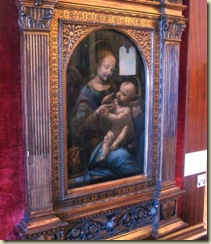 DaVinci Madonna and Child (Small)