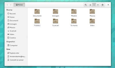 Nautilus File in GNOME 3.12